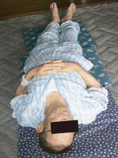 70代男性腰痛